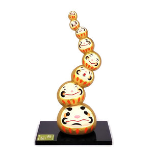 Daruma Mountain, Wishing doll to achieve goals, Gold Front View