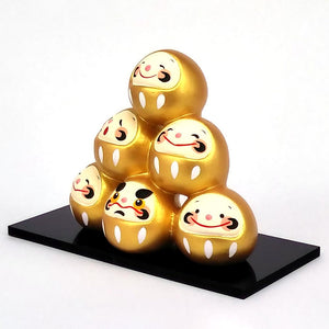 Daruma Mountain, Wishing doll to achieve goals, Pass exam, Get a promotion, Gold Right View