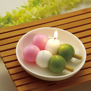Three-colored DANGO Candle