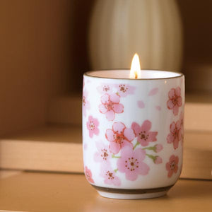 Sakura Tea Candle
