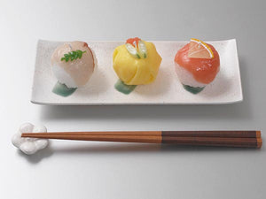 Ball-shaped Sushi Candle.