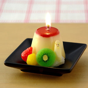 Pudding Candle