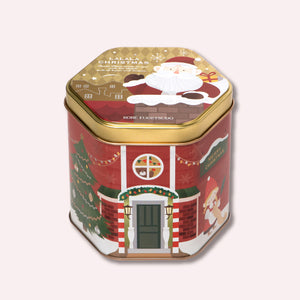 Christmas Petites Gaufres 10S - 18 Petites Gaufres, Packaged in a tin