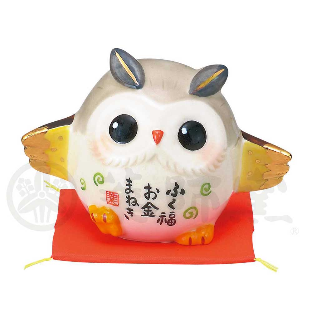 Lucky Owl, Invites Money, Height 5cm