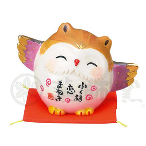 Lucky Owl, Invites Love Luck, Height 5cm