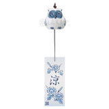 Ceramic Owl Wind Chime