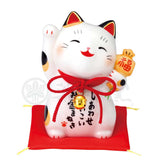Maneki-neko, H12cm, Calico Cat, Right Paw Up, Invites Money, Invites Happiness, Lucky Cat / Fortune Cat