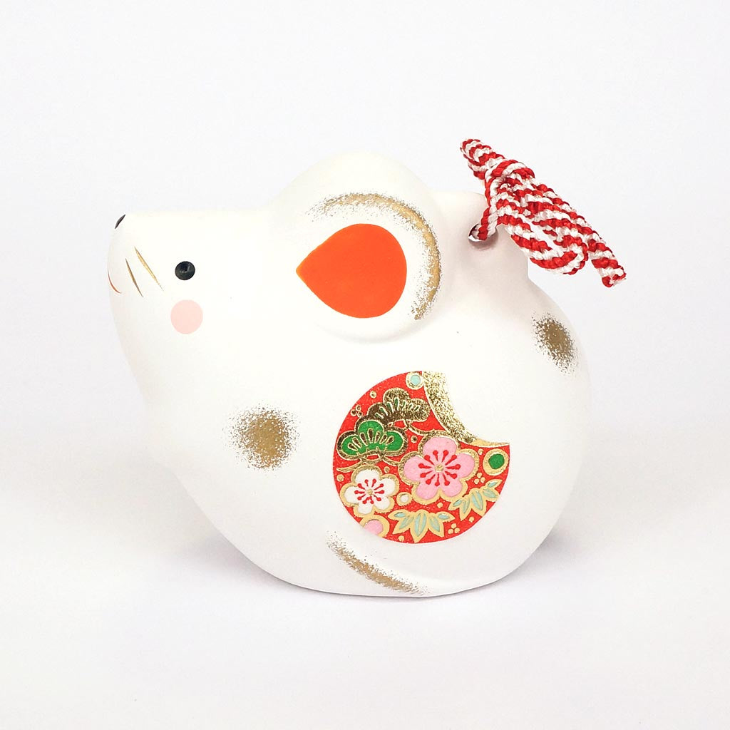 Japanese Zodiac Rat Bell, Year of the Rat Ornament