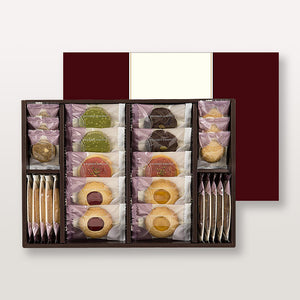 KOBE FUGETSUDO Desserts Choisis 20B - Assorted 26 Cookies in Gift Box