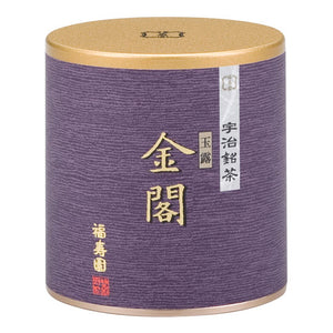 "Canned Gyokuro ""KINKAKU"" 90g, Japanese Tea from Kyoto"
