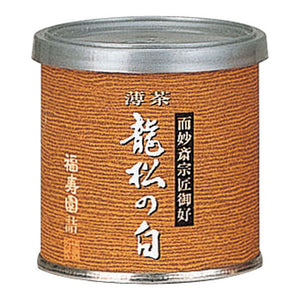 "Canned Matcha ""RYUSHO NO SHIRO"" 20g, Japanese Tea from Kyoto"