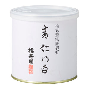 "Canned Matcha ""SEJIN NO SHIRO"" 100g, Japanese Tea from Kyoto"