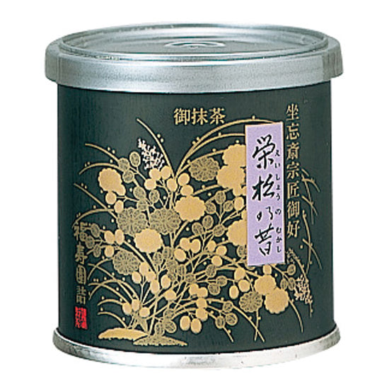 "Canned Matcha ""EISHO NO MUKASHI"" 20g, Japanese Tea from Kyoto"