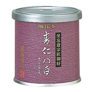 "Canned Matcha ""SEJIN NO SHIRO"" 20g, Japanese Tea from Kyoto"