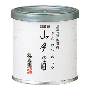 "Canned Matcha ""SANGETSU NO SHIRO"" 20g, Japanese Tea from Kyoto"
