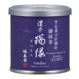 "Canned Matcha ""ZUIEN"" 20g, Japanese Tea from Kyoto"