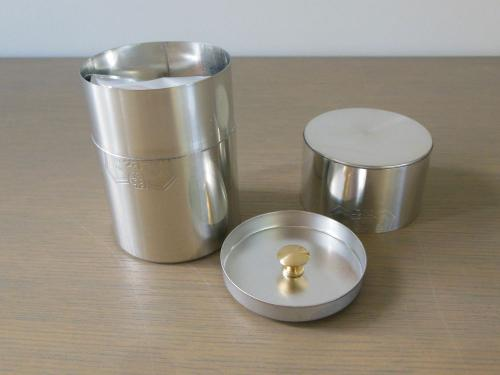 "Sencha ""KOZAN"" 70g, Handmade Special Tea Caddy / Tea Canister, Japanese Tea from Kyoto"