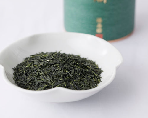 "Canned Sencha ""GINKAKU"" 110g, Japanese Tea from Kyoto"