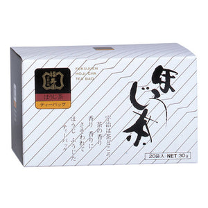 Houjicha Tea Bags 1.5 g x 20 Sachets, Japanese Tea from Kyoto