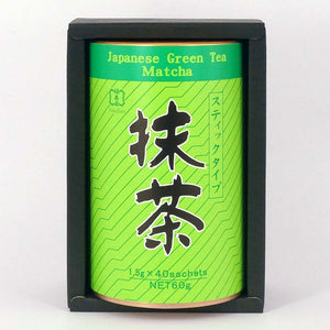 Matcha Stick 60g (1.5g x 40), Japanese Tea from Kyoto