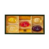 SEMBIKIYA Pure Fruits Jelly - 5 Pieces in Gift Box, 106g each