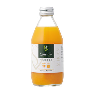 SEMBIKIYA Fruits Juice - Mandarin Orange, 250ml, Additive-free, Glass bottle