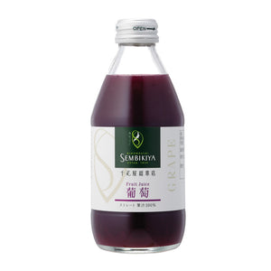 SEMBIKIYA Fruits Juice - Grape, 250ml, Additive-free, Glass bottle