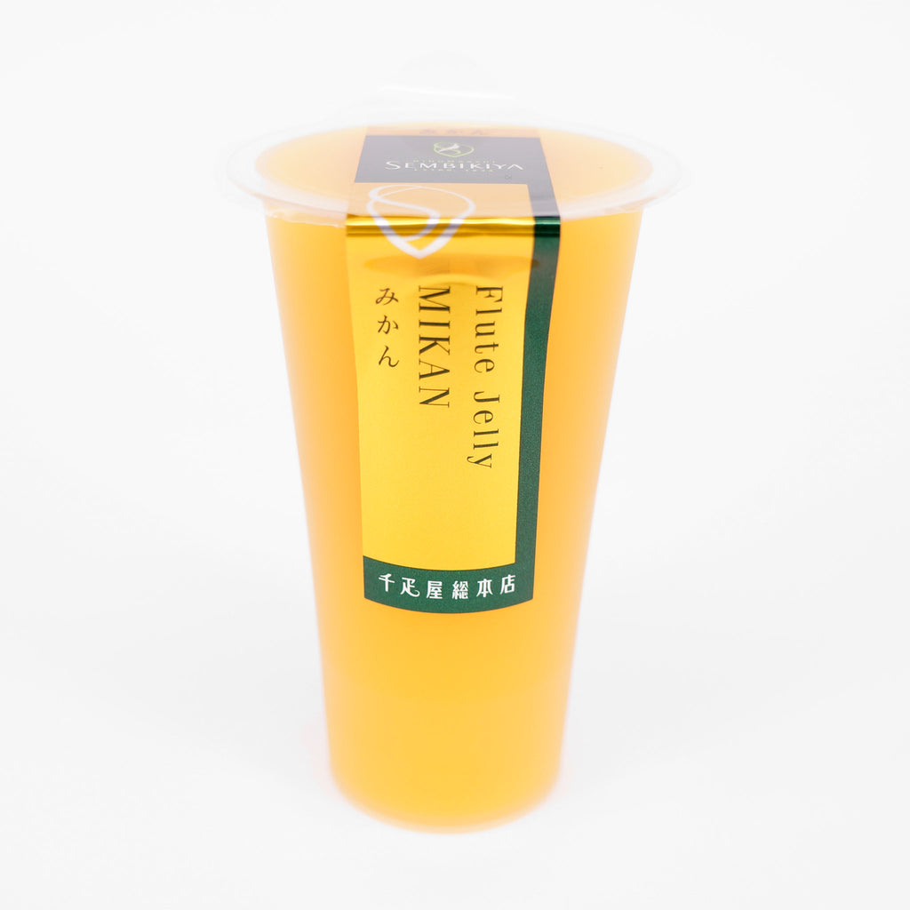 SEMBIKIYA Flute Jelly - Mandarin Orange, 125g