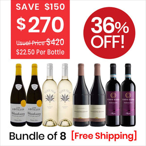 Wine Bundle Deal 1 (8 Bottles Pack) Red Wine & White Wine