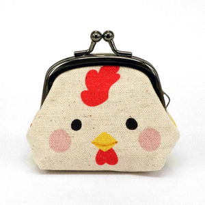 Animal Snap Lock Purse - Rooster