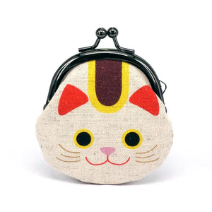 Animal Snap Lock Purse - Lucky Cat