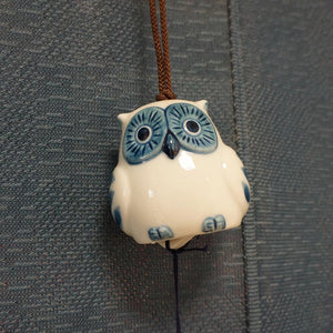 Owl Wind Chime, Good Luck