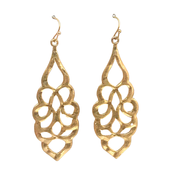 Gallery Earrings Gold