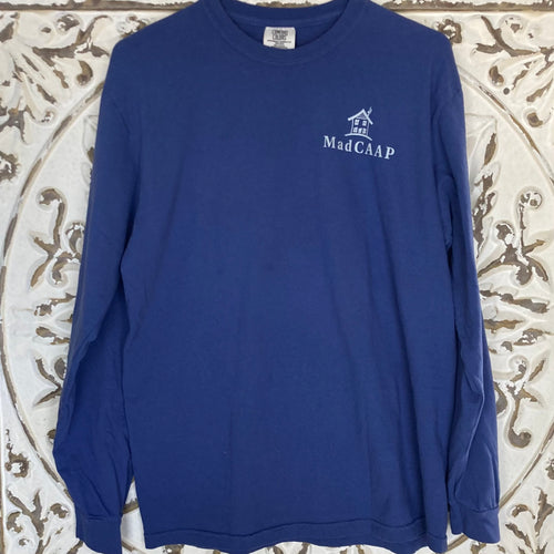 Long Sleeve Tshirt MadCAAP China Blue