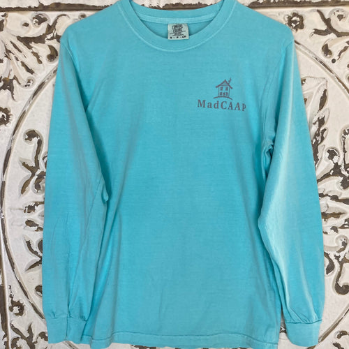 Long Sleeve Tshirt MadCAAP Lagoon Blue