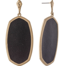 Load image into Gallery viewer, Sarah Earrings in Black