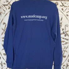 Load image into Gallery viewer, Long Sleeve Tshirt MadCAAP China Blue