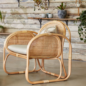 Bermuda Lounge Chair The Rattan Company