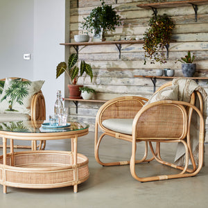 Bermuda Chair and Coffee Table Set The Rattan Company