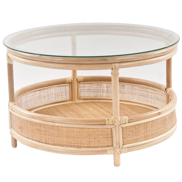 Bermuda Rattan Wicker Coffee Table  - The Rattan Company