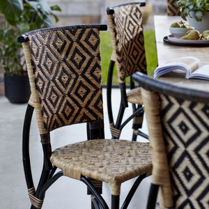 Bima Ratan Dining Chair - The Rattan Company