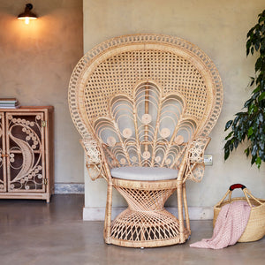 Florence Rattan Peacock Chair The Rattan Company