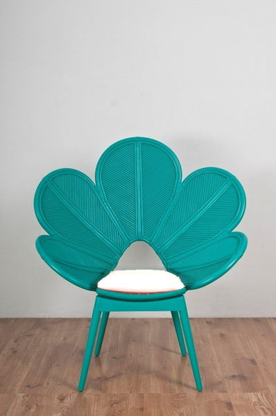 The Rattan Company Daisy Chair Jade