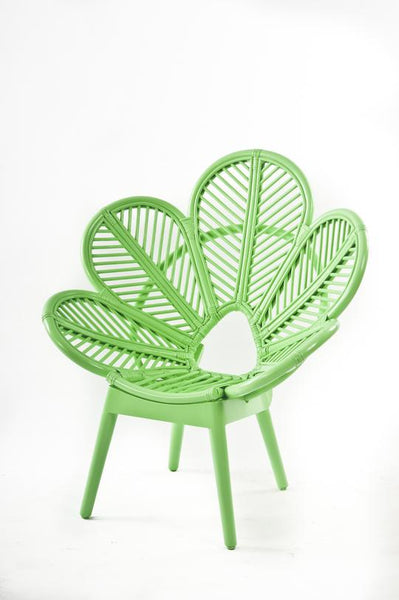 Kids Petal Chair Pastel Green - Clearance