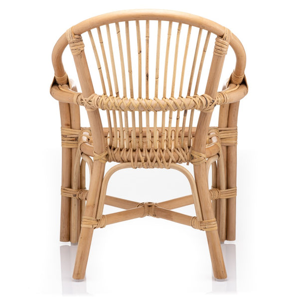 Molly Kids Rattan Armchair Back - The Rattan Company