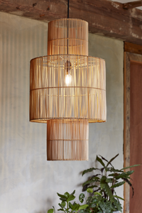 Natural Rattan Madura Lampshade - The Rattan Company