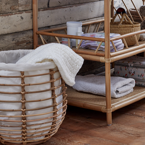 Natural Rattan Storage/Laundry Baskets