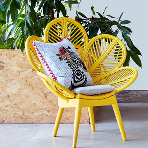 Rattan Kids Petal Chair - The Rattan Company