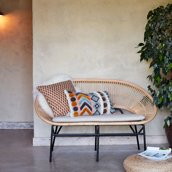 Sunrise Rattan Conservatory Sofa Lifestyle - The Rattan Company
