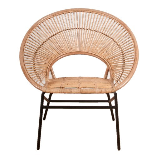 Sunrise Natural Rattan Accent Chair - The Rattan Company